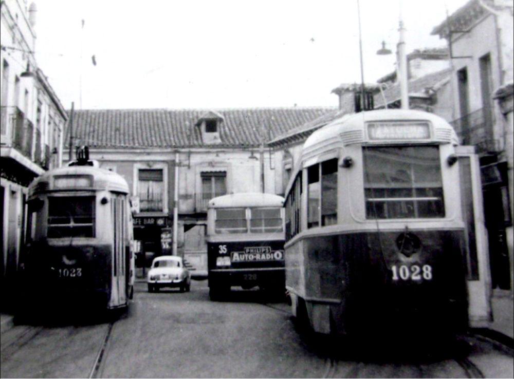 foto histórica tranvía en carabanchel eugenia de montijo