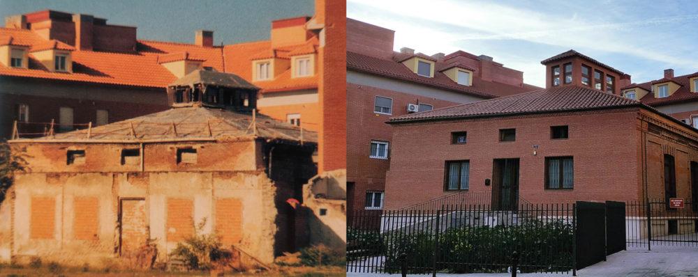 El antiguo granero o almacén antes y después de la reforma