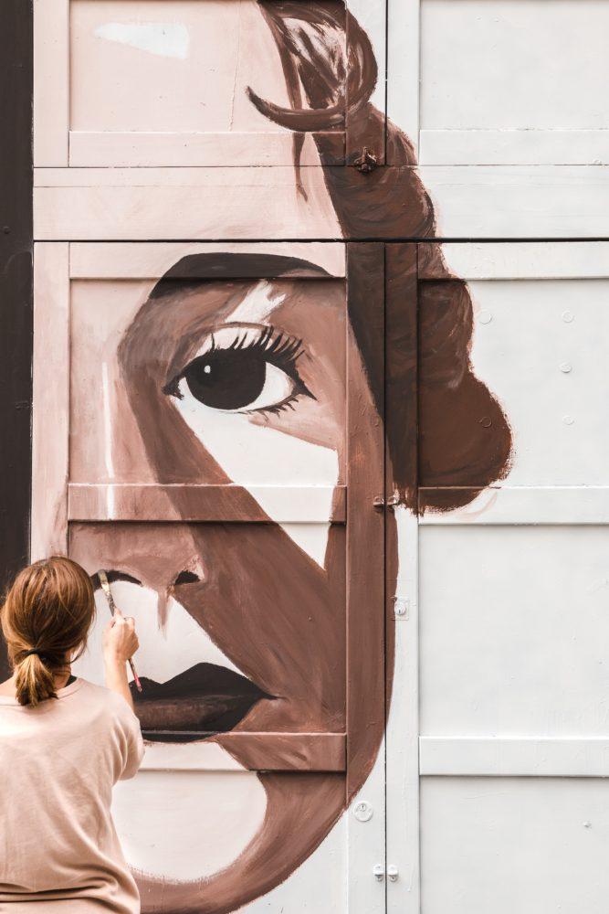 grafiti persianas libres arte urbano