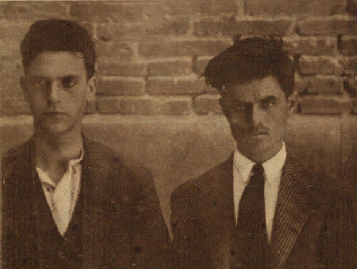 Leandro Iniesta y Julián Ramírez